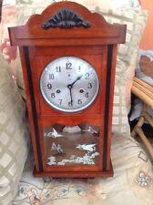 Vintage Handmade/Hand Carved Antique Wall Clocks