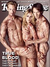 Rolling Stone Magazine True Blood Alexander Skarsgard Stephen Moyer Taylor Swift