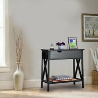 / Top Table Modern Accent Side Stand Sofa Entryway Hall Display Storage rack