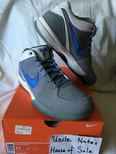 Nike Kobe 2009 Zoom IV 4 Minneapolis 'MPLS' Lakers, Suede, Size 11, DS