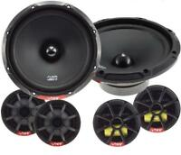 "Vibe Slick6c 6.5"" 17cm 2 way Component Car Door Speakers & Tweeters 270w Pair"