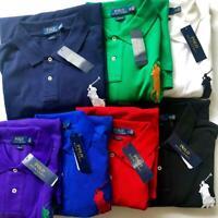 Polo Ralph Lauren Classic Fit Big Pony #3 Short Sleeve 100% Cotton Shirt NEW