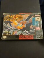 Wing Commander SNES Super Nintendo Entertainment open Box Sealed in package!