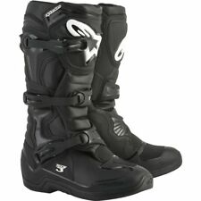 Alpinestarts Tech 3 Motocross Riding Boots Black Adult Size 10