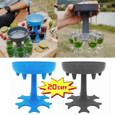 6 Shot Glass Dispenser and Holder/Liquor Dispenser Party Gifts