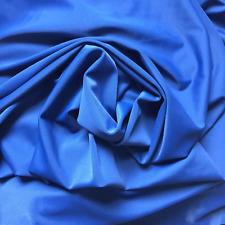 Four Way Stretch Nylon/Spandex Sports Swim Fabric Blue
