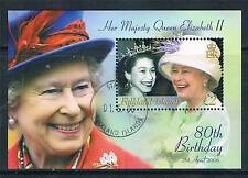 Falkland Is 2006 Queens 80th Birthday MS 1042 CTO