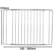 UNIVERSAL Adjustable Extendable Cooker OVEN GRILL SHELF 345 - 565mm