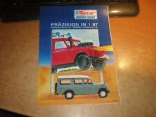 Roco Präzision in 1/87    Language: german, english & French    Katalog