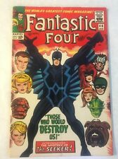 FANTASTIC FOUR #46 5.5 F- OW 1st App BLACK BOLT 2nd Inhumans Marvel Movie Key