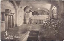 RPPC,Puebla,Mexico,Bajada al Cementerio Convento de Sta.Monica,MF Photo,1930>