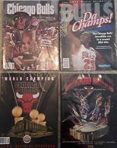 Michael Jordan Chicago Bulls MINT Yearbook lot Unread