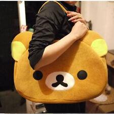 Cute Big Bag Handbag shoulder Bag plush relax brown bear Freeshipping WL