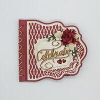 Stanzschablone Karo Karte Hochzeit Weihnachts Geburstag Oster Karte Album Deko