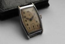 Alte Herrn ⌚ JUNGHANS kl. Sekunde Art Deco Kal. 97 Handaufzug 40er Vintage D Uhr