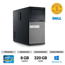 ORDENADOR SOBREMESA DELL 790 CORE I7-2600 3,40 8 GB RAM 320 GB DVDRW WINDOWS 10