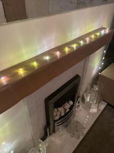 Alison Cork Jewel Light Strand Pastel Multi New 10ft Long Timer New Fairy Lights