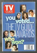 TV Guide-3/2000-TV GUIDE AWARDS-KRISTY SWANSON-PASSIONS-MARTY INGELS-MAINE EDITI