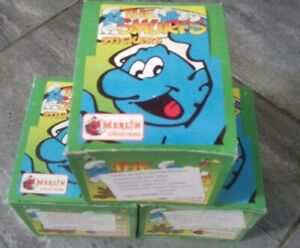 The Smurfs MERLIN Les Schtroumpfs 3 Box with 50 packs