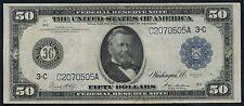 FR1035 $50 FRN PHILADELPHIA 1914 SERIES WHITE / MELLON VF+ HW2567