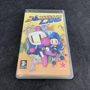 PSP Bomberman Land FRA Excellent état