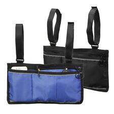 Wheelchair Side Bag Armrest Pouch Organizer Bag Phone Pocket Walker Scooter