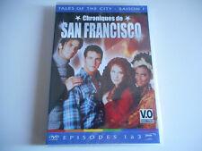 DVD NEUF- CHRONIQUES DE SAN FRANCISCO  SAISON 1 / EPISODES 1 à 3 - ZONE 2