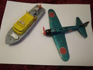 Dinky Toys 739 A6 M5 Japanese  Zero Sen and. Coastguard boat