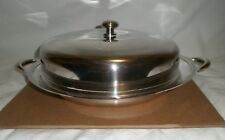Wanamaker 5-piece Serving Dish, quadruple silverplate, inserts, modern style