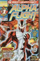 Alpha Flight (Vol 2) # 1 ( Vryfn Minus (Vfn Marvel Comics Americano
