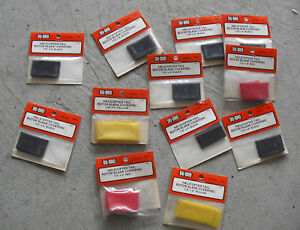 Lot of 12 New R/C Accessories Du-Bro Helicopter Tail Rotor Blade Covering NIP
