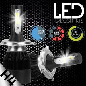 488W H4 9003 HB2 Hi/Lo LED Headlight Lamp Light Bulbs Kit 6500K White COB