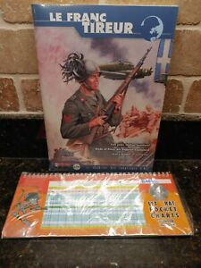 Advanced Squad Leader: Le Franc Tireur #14 & 3rd Edition Rat Chart New in SW