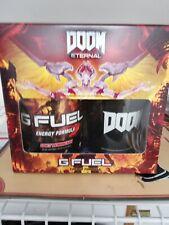 G Fuel Energy Collectors Box Demonade Sold Out Doom Eternal Brand New