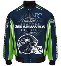 Seattle Seahawks Men's NFL G-III Burst Twill Jacket -Size Large Free Ship