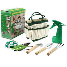 Amazing 7 Piece Mini Garden Tool Set With Bag Hand Tool Set Gift Set Brand  New