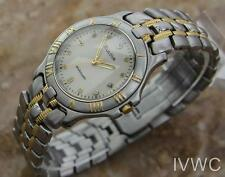Bulova Luxury Ambassador Classic Men's Swiss Vintage Quartz Watch c1990 485