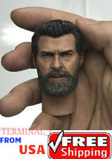 1/6 Wolverine Head With Neck Hugh Jackman For Logan X-Men IN STOCK ❶USA❶