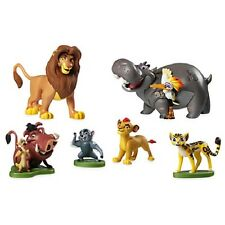 DisneyStore Lion Guard King Figure Play Set Cake Topper Decorations
