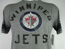 Winnipeg Jets Men's Gray T Shirt G-III Vintage Tri Blend NHL