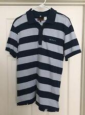 Ben Sherman Men's Polo Shirt Blue Size XL
