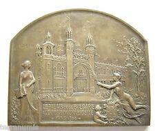 g854 Bulgaria 1900 Exposition Universelle de Paris  Art Nouveau medal by Szirmai