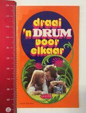 Aufkleber/Sticker: Draai 'n Drum Voor Elkaar (02061613)