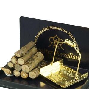Firewood & Log Holder 1.856/6 Reutter DOLLHOUSE Miniature