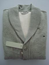 ** 50% OFF!!! ** J. Lindeberg JERSEY JACKET-Buttoned Sweatshirt/M/RRP £ 119