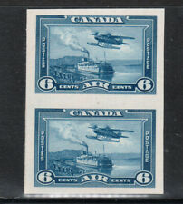 Canada #C6P Extra Fine Plate Proof Pair On Card