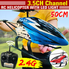 RC Helikopter ferngesteuerter Hubschrauber 2.4GHz Heli 3,5 Kanal LED Licht