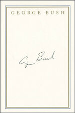 GEORGE H.W. BUSH - BOOK PLATE SIGNED