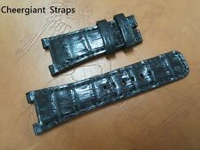 IWC Ingenieur Automatic Mission Earth crocodile watch strap band訂製 IWC工程師鱷魚皮手工錶帶
