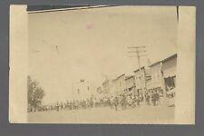 Bryant SOUTH DAKOTA RP 1908 TRAPEZE ARTIST Carnival Circus nr Watertown Clark